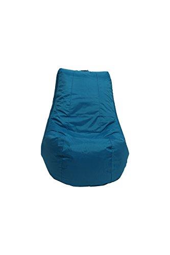 Pouf poire d'intérieur - Fauteuil de jardin relax - idéal pour enfants - Turquoise