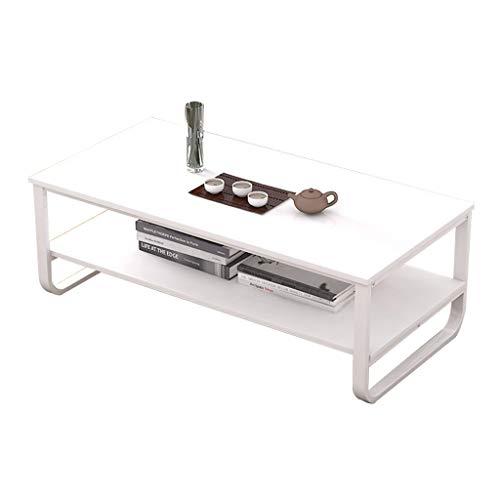 Xu-table Eisen, Holz, Couchtisch, Apartment TV Otaku Schreibtisch, Malerei Yard Entertain Esstisch, Neujahr (Color : White, Style : A)
