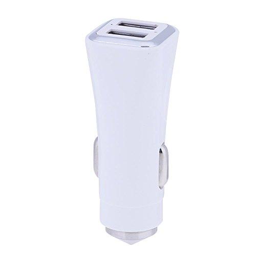 tuankay 2in 1Dual USB Ports Auto Ladegerät Adapter + Notfall Sicherheit Hammer
