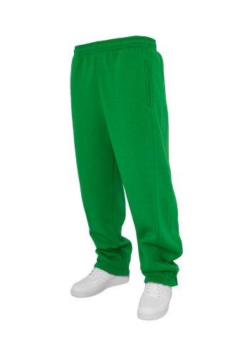 Urban Classics Herren Jogginghose Sweatpants - Urban Fit 1/2 c.green