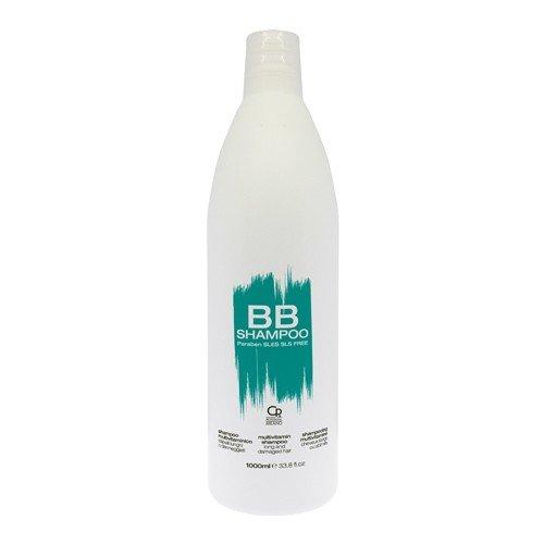 Scheda dettagliata BB Hair Care - Shampoo Multivitaminico - Prodotto Professionale Ideale per Capelli Lunghi e Danneggiati - Rinforza e Protegge da Doppie Punte e Rottura - 1 L