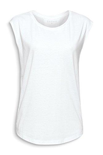 ESPRIT Top Sportivo Donna Bianco (White 100)