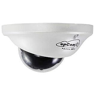 upCam Vortex HD S IP Kamera - Vandalensichere Überwachungskamera - Mini Dome Kamera mit Smart PoE/LAN (Sony Full HD Sensor, 1080p, Nachtsicht, App, Weitwinkel, 2MP)