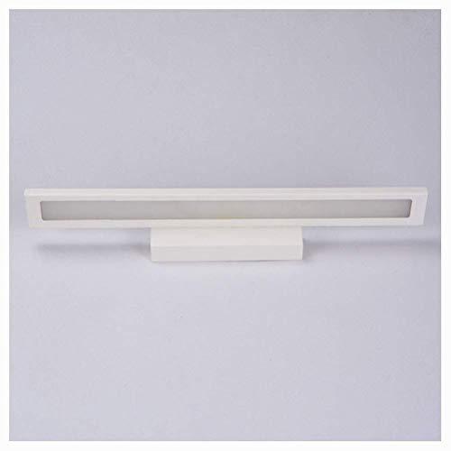 BAIF Beleuchtung LED Wandlampe Minimalismus Spiegel Frontlicht Badezimmer Wandleuchten Moderne Pinup Leuchte Lampada Korridor Veranda Beleuchtung (Farbe: Weiß-Warmes Licht-40cm) -