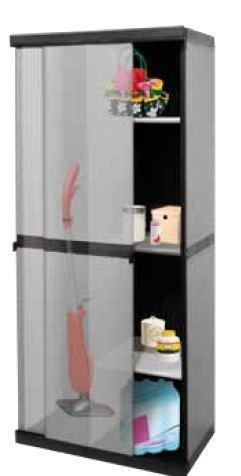 Idea armadi per esterni armadio anta scorrevole portascope da esterno in pvc
