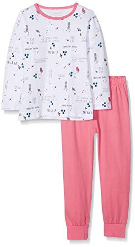 NAME IT Baby - Mädchen Zweiteiliger Schlafanzug NMFNIGHTSET Bubblegum NOOS, Mehrfarbig, 98