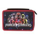 Trousse 3zip Power Rangers Seven avec couleurs et accessoires Noir Rouge