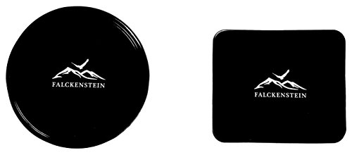 Premium Mikrofaser Reise-Handtuch (80x160) incl. Karabiner & Tasche + GRATIS Fixate Gel Pads • mit unsichtbarer Reisverschluss-Eck-Tasche von FALCKENSTEIN • ideal für Fitness-Studio, Sauna-Tuch, Microfaser Badetuch, Strand-Handtuch, See, Trekking, Outdoor & Reisen • (Grau, 80x160 cm) - 8