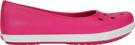 Crocs Crocband Flat Airy Candy Pink/White