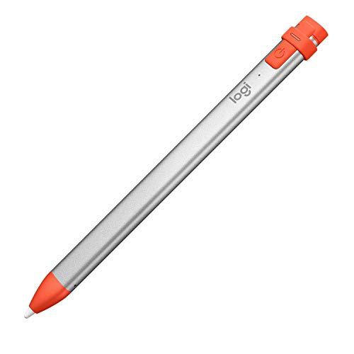 Logitech Crayon - Lápiz digital para Apple iPad, con la Tecnología Apple Pencil y la Tecnología de Rechazo de Palma (Reacondicionado)