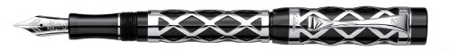 Deals For Laban Maya 925 Sterling Silver Fountain Pen – Silver/ Black on Amazon