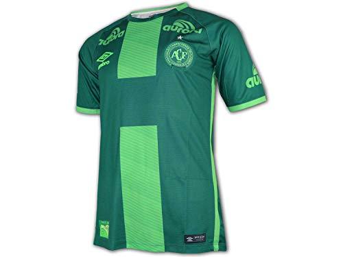Umbro Chapecoense 3rd Jersey 2017/18 grün Fußball Liga Brasilien Shirt Trikot, Größe:M -