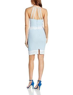 Lipsy Women's Lace Apron Dress