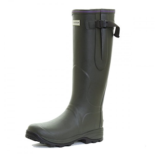 Hunter Lady Balmoral Neoprene Dark Olive