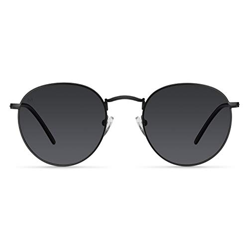 Meller Yster All Black - UV400 Polarisiert Unisex Sonnenbrillen