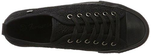 Fiorucci Damen Fepa002 Sneaker Schwarz (Nero)