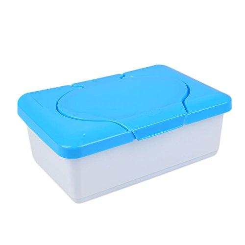 hongfei Baby Wipes Spender, Feucht Tissue Case Baby Wipes Box Startseite Tissue-Halter Zubehör (blau/Pink)