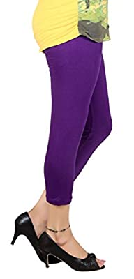 Q-rious Women's Multicolor Free Size Three Fourths (Pack of 4)