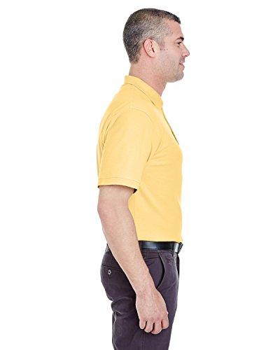 UltraClub Herren Poloshirt Gelb