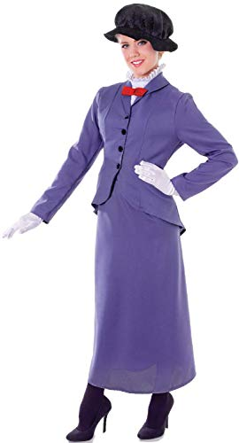 Ladies Practically Perfect Victorian Nanny World Book Day Week Teacher Assistant TV Film Movie Fancy Dress Costume Outfit