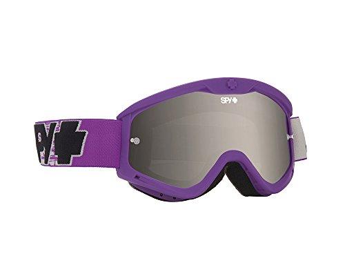Spy MX Goggle Targa 3, Burnout Purple - Smoke W/Silver Mirror Afp, One Size, SPYGOMX_TAR3