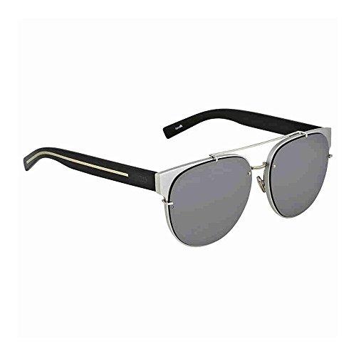 Christian Dior BLACKTIE143SA IR 02S, Montures de Lunettes Homme, Noir (Silver Black/Grey Blue), 56