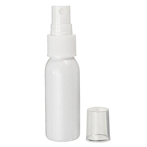 MYAMIA 30Ml Plastik Spray Flasche Weißes Nachfüll Bares Parfüm Make-up Wasser Tragbaren Behälter Für Reisen -