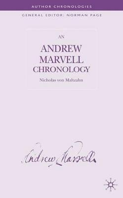 By Nicholas Von Maltzahn ; N Maltzahn ( Author ) [ Andrew Marvell Chronology (2005) Author Chronologies By Jul-2005 Hardcover Pdf - ePub - Audiolivre Telecharger