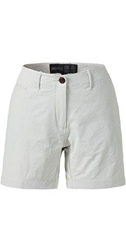 Fleece-active Shorts (Musto - Damen - wesentliche UV Schnell Dry 4 Shorts mit Taschen in Platinum - Bequeme Active für den Sommer)