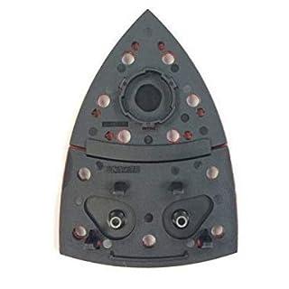BOSCH Genuine Delta/Iron Shaped Sander Plate (VERSION To Fit: Bosch PSM 200 AES Sander ONLY) c/w STANLEY KeyTape (image shown) + Cadbury Chocolate Bar
