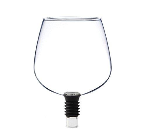 Guzzle Buddy Il transforme votre Bouteille de Vin dans votre Verre à vin