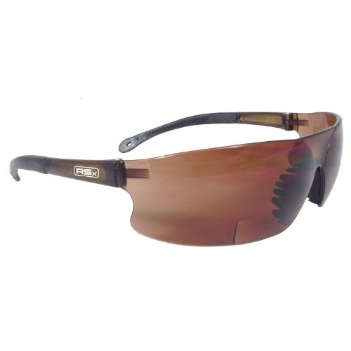 Radians RSB-425 Rad-Sequel RSx Lightweight Bi-Focal Glasses with Coffee Polycarbonate Lens by Radians