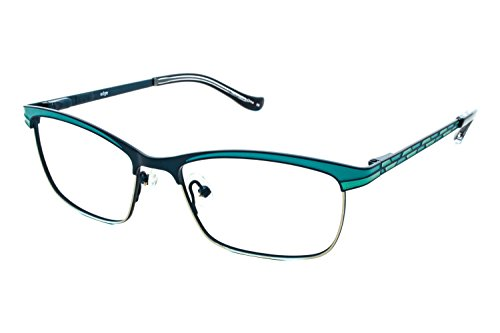 kensie-eyeglasses-edge-teal-51mm