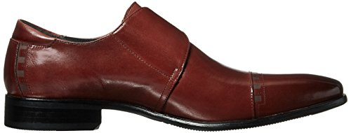 Stacy Adams Macmillian Eckig Leder Slipper Cinnamon