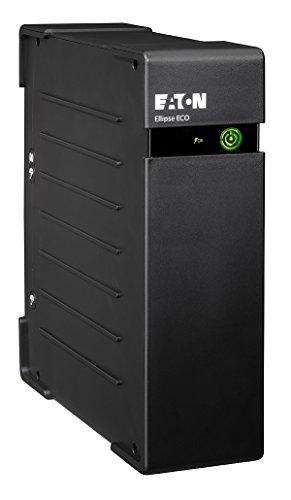 Eaton Ellipse ECO 800 USB DIN - Unterbrechungsfreie Stromversorgung (USV) 800 VA mit Überspannungsschutz (4 Schuko Ausgänge) -