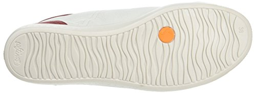 SoftinosIsabel - Pantofole a Stivaletto donna Off-White (Off-White/Tan)