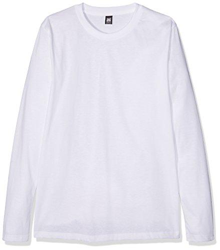 Trigema Herren Langarmshirt Langarm Shirt 100% Baumwolle Weiß (Weiss 001)