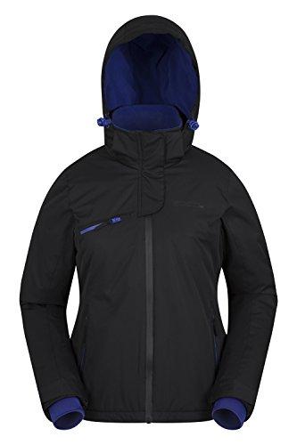 Mountain Warehouse Freestyle Damen Skijacke warm skifahren snowboard winterjacke wasserdicht Schwarz DE 42 (EU 44)