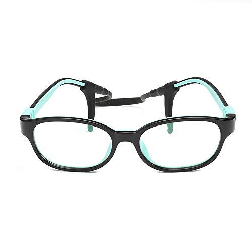 Brille für Kinder, blaues Licht, das Gläser blockiert [flexibles Leichtgewicht] Brille mit klarem Glas, stilvolle Jungenmädchen - Wege zum besseren Schlaf (Jungenmädchen)-4