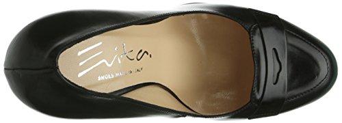 Evita Shoes - Pumps Geschlossen, Scarpe col tacco Donna Nero (Nero (nero))