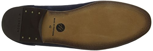 Hudson London Renzo, Mocassins Pour Man Blue (navy)