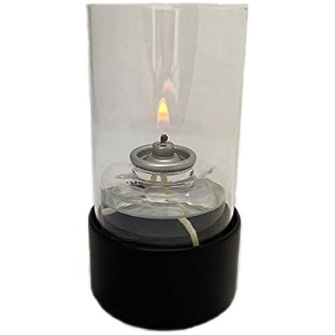 Alampat Cristal - Lámpara de aceite, vidrio, color transparente