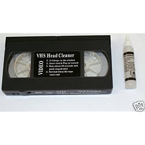 K1- Limpiador Cintas de Video S/VHS + Fluido VHS/PAL/SECAM
