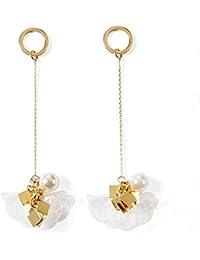 b956929461f8 EARRINGS HOME Pendientes de perlas de imitación de temperamento