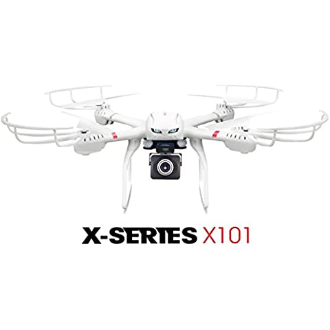 MJX X101 2.4G RC Drone 6 Axis Gyro Supper Large Quadcopter UAV With Gimbal + MJX C4008 1.0mp 720 HD FPV Real Time Camera