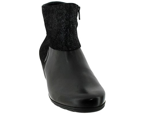 Mephisto Womens Iris Leather Boots Nero