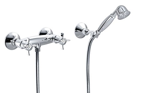 """""""ORIENTES"""" Outdoor Shower Group with Holder and Hand Shower - Best Price"""