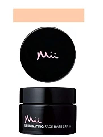 Mii Cosmetics - Illuminating Face Base Foundation SPF15 (Gentle Glow 01) 25ml. by Trendy