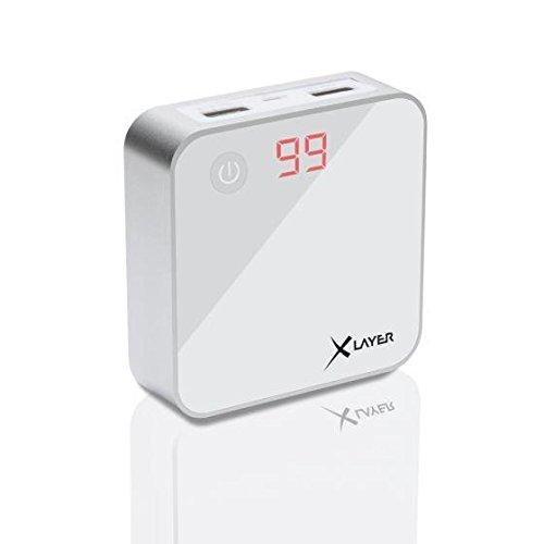 Xlayer Zusatzakku Powerbank X-Charger White 6000mAh Smartphones/Tablets
