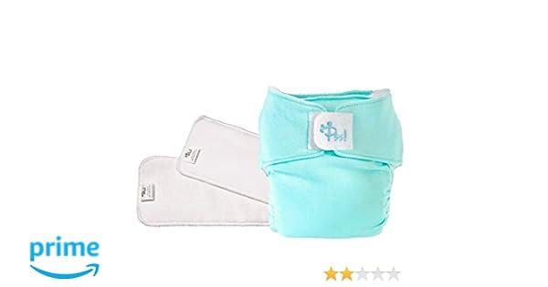 1 Cover Colorata e 2 Pannoli Assorbenti Easy Kit da 1 cambio con inserto estraibile Made in Italy PSS Pannolini lavabili ecologici POCKET